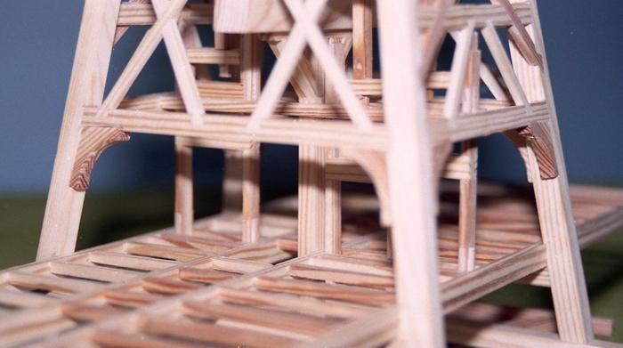 Penterbak bouwt paltrokmolen De Vrouwenakker.