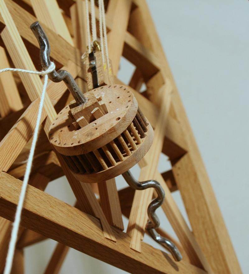 hijsen krukas krukwiel model penterbak