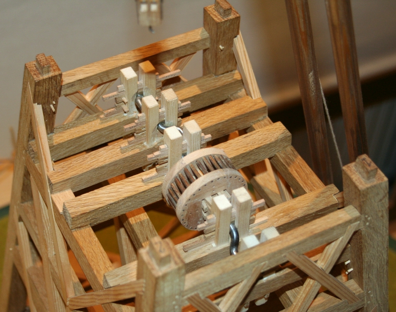 hijsen model krukas molen penterbak