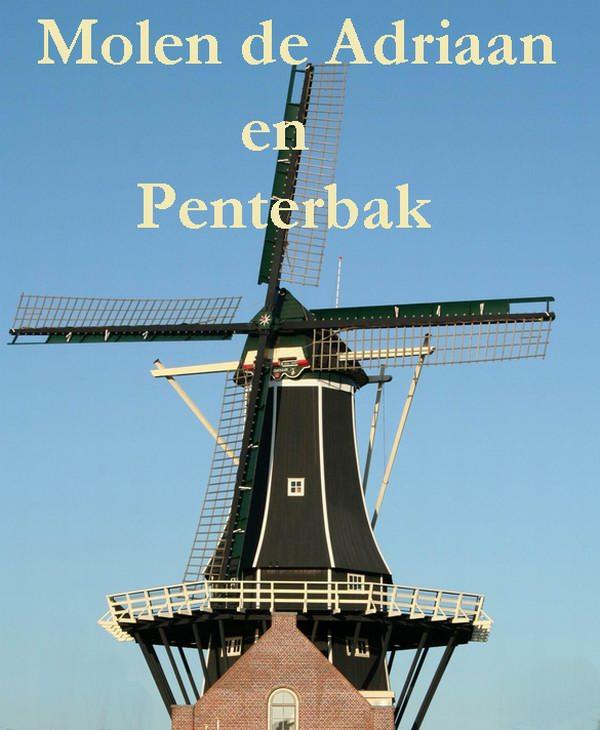 Korenmolen de Adriaan te Haarlem