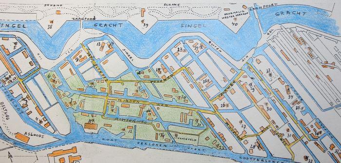 plattegrond van de eerste molens