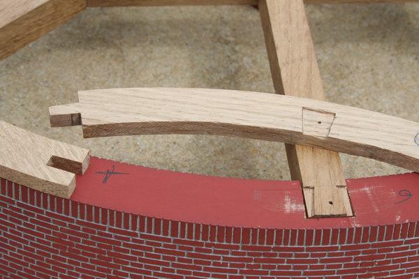 verbinding rolvloer met kruisbalken