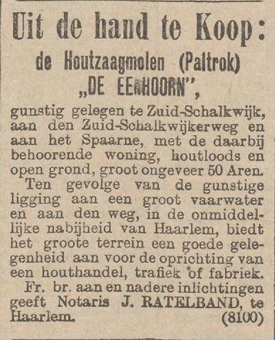 hetn nieuws van de dag 22-01-1910