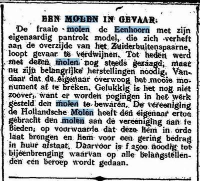 Het Vaderland 9 maart 1927