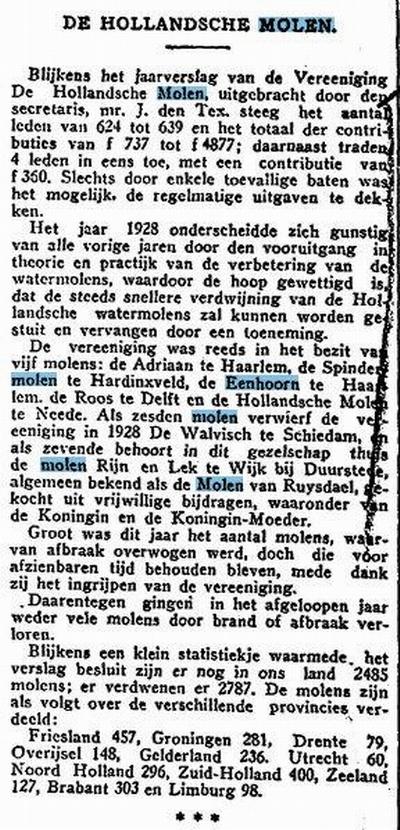 Het Vaderland 6-03-1929