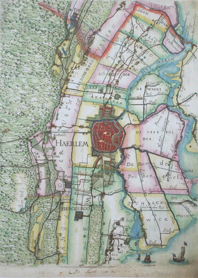 De kaart van Floris Balthasar