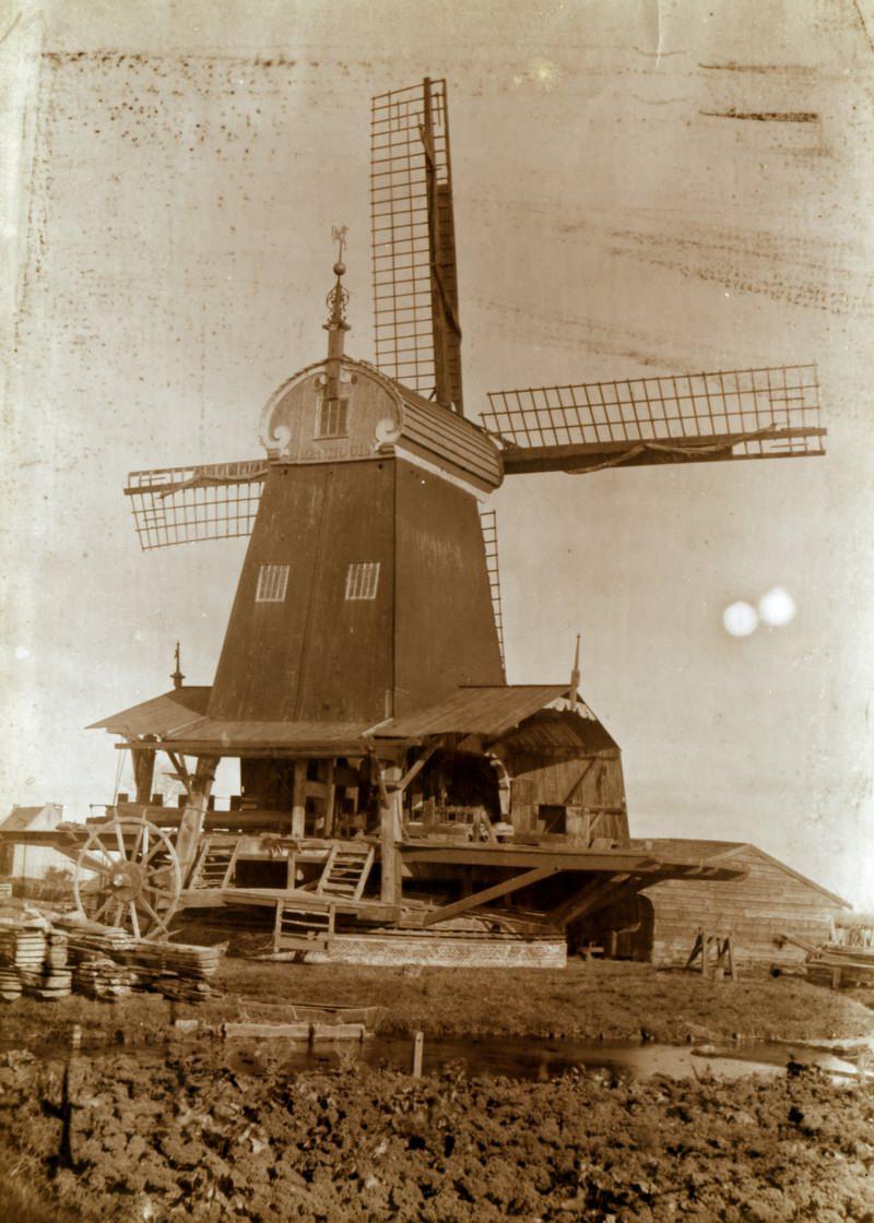 De Eenhoorn rond 1890